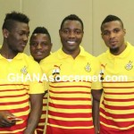 EXCLUSIVE PHOTOS: Black Stars ahead of Montenegro friendly