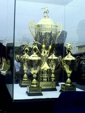 New Ghana Premier League trophy and its miniatures