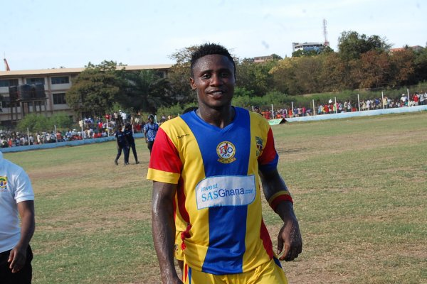 Nuru Sulley to be punished by Hearts for attacking goalkeeper Philemon McCarthy