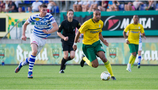 Patrick Amoah came off the bench to score the equaliser for Fortuna Sittard