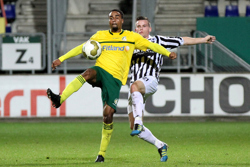Patrick Amoah is set to return to action for Fortuna Sittard