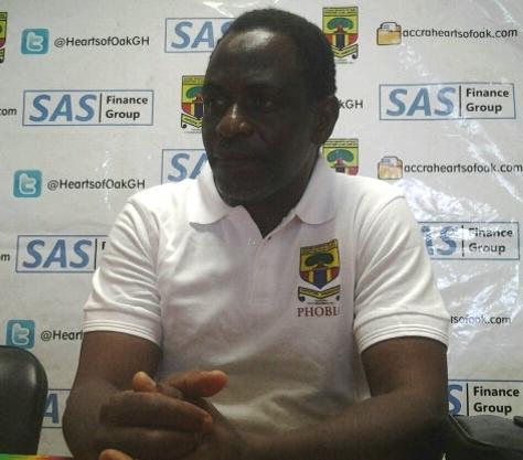 Hearts of Oak coach Mohammed