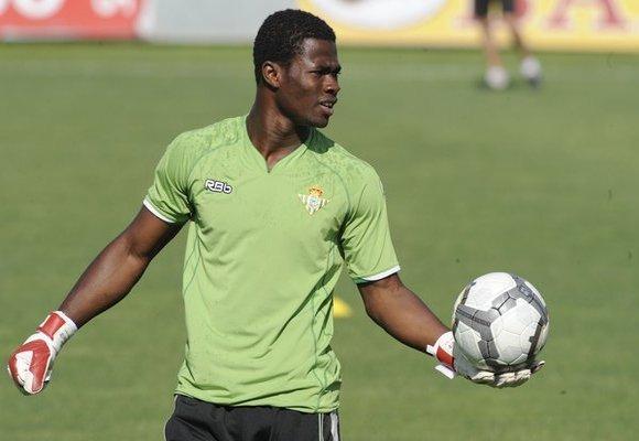 Ghana goalkeeper Razak Brimah