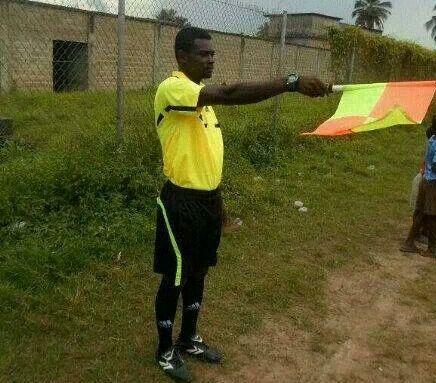 Referee Kyei-Andoh died last week