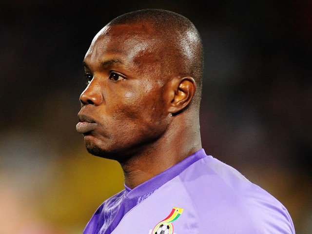 Veteran Ghana goalkeeper Richard Kingson