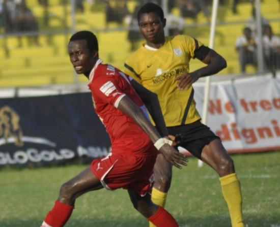 Asante Kotoko striker Seidu Bancey set to serve one match ban