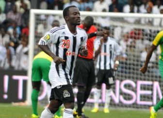 Solomon Asante impressed on Saturday for TP Mazembe