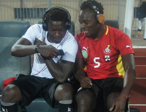 Sulley Muntari and Michael Essien will be unable to rock their fanciful headphones at the 2014 World Cup