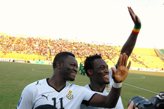 Are the dynamic duo; Sulley Muntari and Michael Essien losing steam?