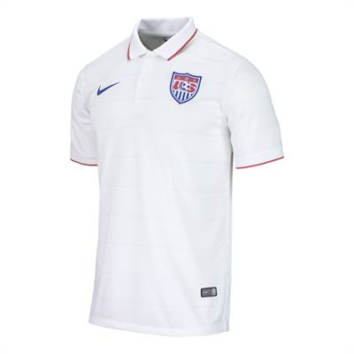 USA's new home kit for the 2014 World Cup