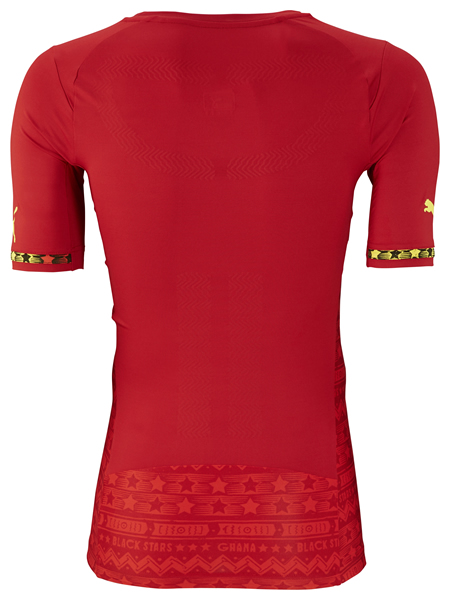 Ghana's World Cup away shirt