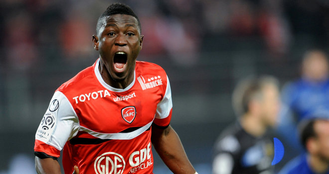 Waris scored for Valenciennes