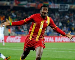 Black Stars skipper Asamoah Gyan is confident Ghana will be third time lucky when they cross swords with Jurgen Klinsman's USA in Brazil this June.