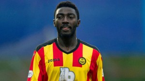 A man has been arrested in Scotland for racially abusing Ghanaian midfielder Prince Buaben who plays for top-flight side Partick Thistle.