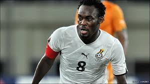 AC Milan midfield commander Michael Essien will captain Ghana on Wednesday night when they play Montenegro in a pre-World Cup friendly in Podgorica.