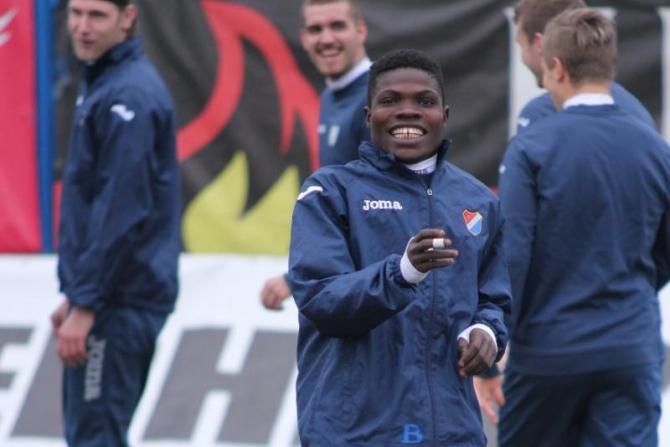 Francis Narh is confident Banik Ostrava will avoid relegation