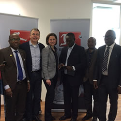 Key officials of the Ghana Football Association (GFA) have ended their visit to Germany on a fact-finding mission at the Bundesliga, courtesy SuperSport.