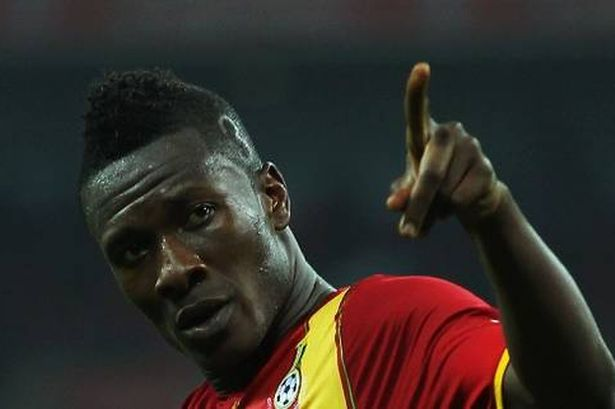 Red-hot Asamoah Gyan is on fire