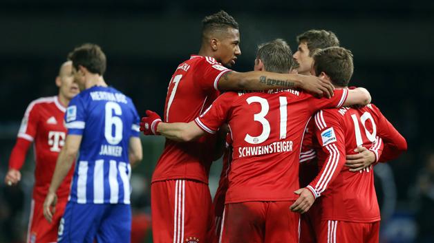 Jerome Boateng won the German title with Bayern Munich