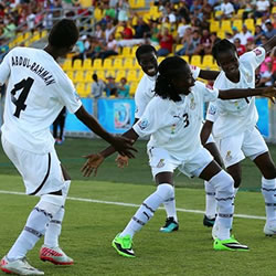 Ghana's Black Maidens arrived back home on Saturday after their U-17 FIFA Women's World Cup ended in the quarter-finals in Costa Rica.