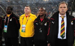 Ghana's hopes of getting their ex-manager Milovan Rajevac to work as part of their backroom staff for the 2014 World Cup has been massively boosted after the Serbian was snubbed by Benin.