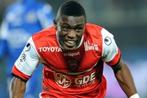 Ghana striker Majeed Waris enjoying stay at Valenciennes