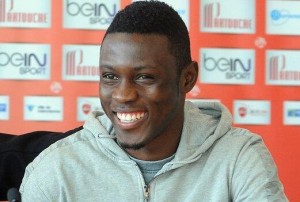 Ghana striker Abdul Majeed Waris' goal he scored in France over the weekend has been named as the second best goal in France this week.
