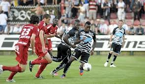 Abraham Kudemor scored for Sporting Charleroi