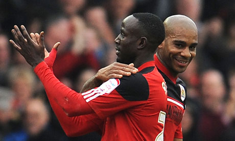 Ghana winger Albert Adomah has shown another quality by playing as effectively as right-back for English side Middlesbrough on Saturday a move that would count to his advantage with the provisional World Cup squad set to be named next month.