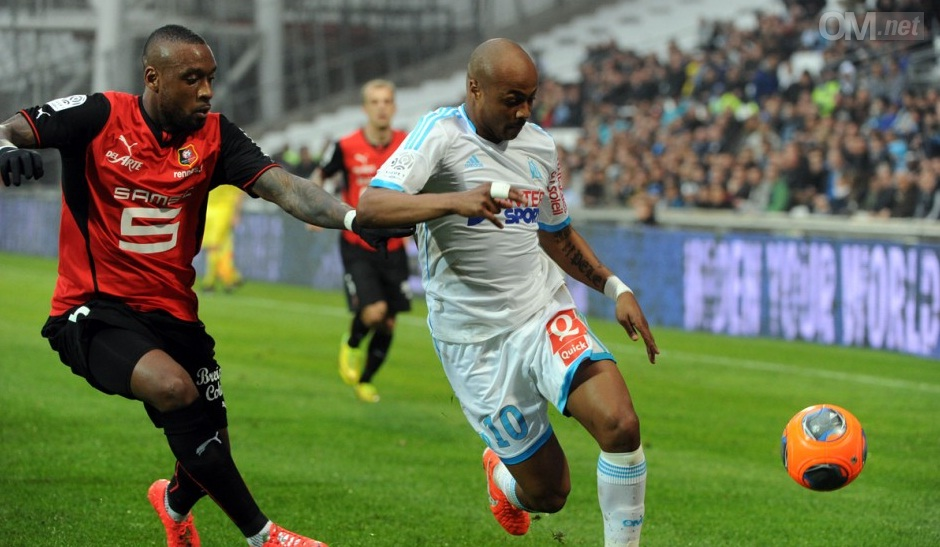 Ghana star Andre Ayew scored all three goals for Marseille against Ajaccio