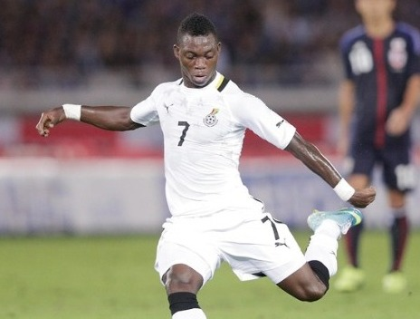 Christian Atsu will be making his World Cup bow with Ghana this summer