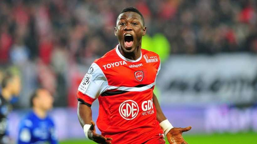 Back with a bang - Waris scored for Valenciennes