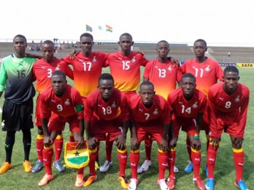 Ghana U17 beat South Africa 3-0 for third straight win at 4-nation tourney