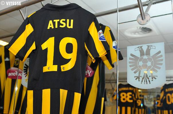 Christian Atsu is becoming popular among Vitesse Arnhem fans