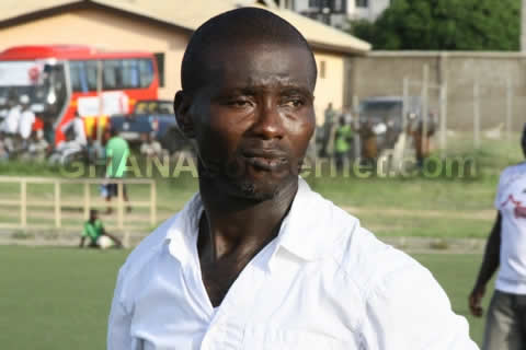 Eleven Wise coach Angelo Dedon Arkhurst couldn't control his emotions after the game
