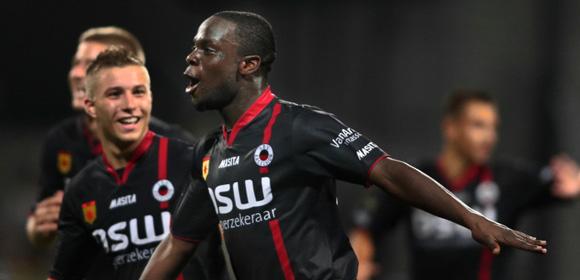 Elvis Manu has been in top form at Cambuur