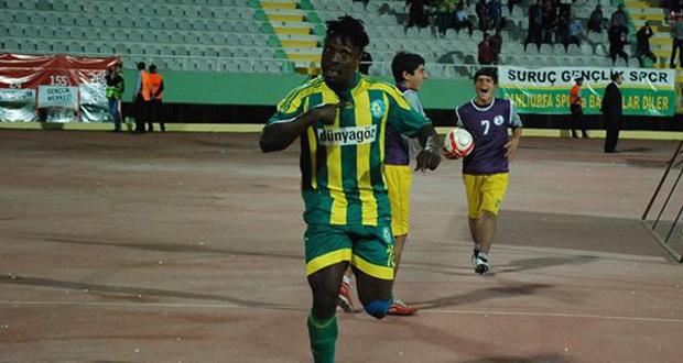 Emmanuel Banahene scored for his club in Turkey