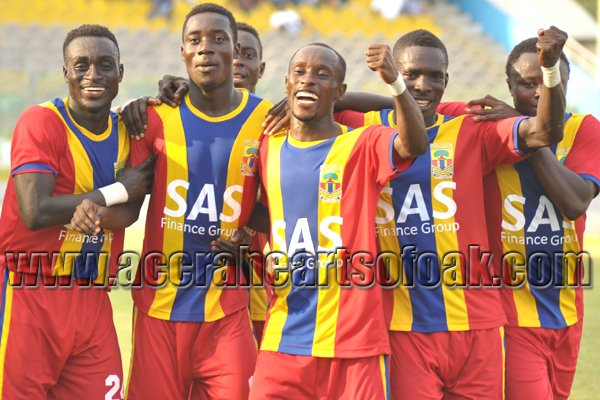 Emmanuel Hayford scored for Hearts of Oak