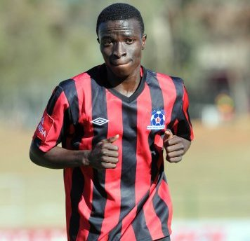 Frank Sarfo Gyamfi has started playing regularly for Maritzburg United