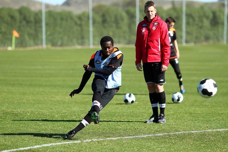 Ghana striker Mahatma Otoo is confident of his team's rise