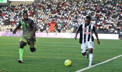 Gladson Awako provided one of the assists in Mazembe's huge win