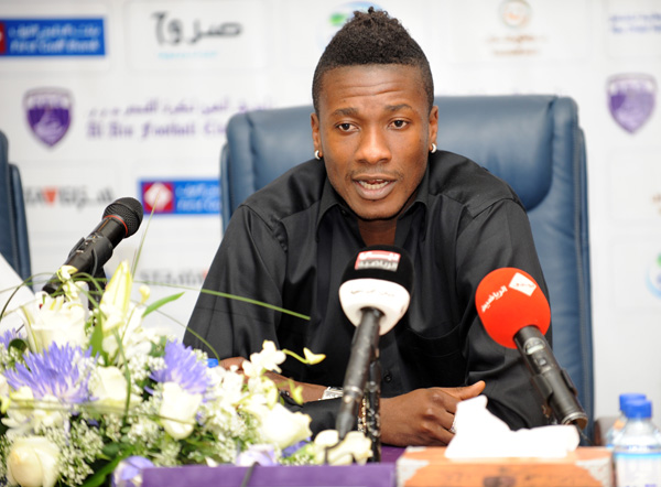 West Ham likely to start Asamoah Gyan chase