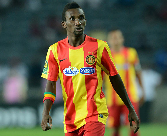 Harrison Afful scored for Esperance against Sfaxien in the league clash
