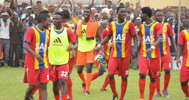 Hearts of Oak suffered defeat against Heart of Lions