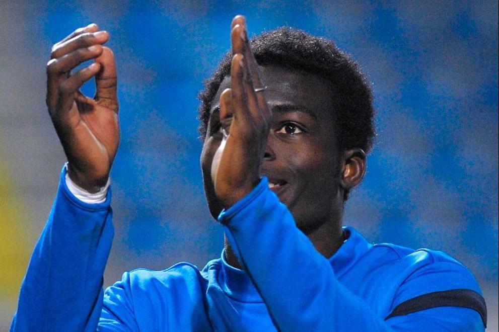 Isaac Sackey scored for Slovan Liberec