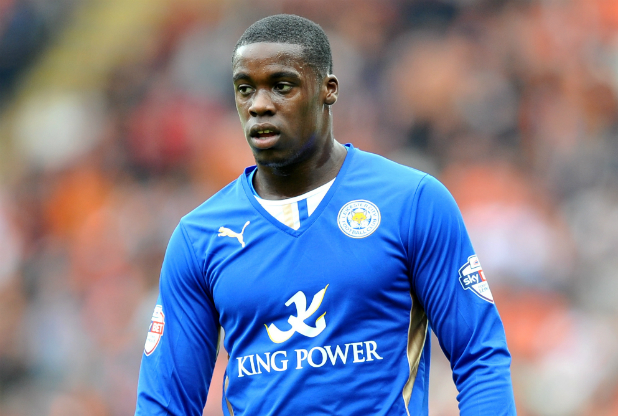 Jeffrey Schlupp is close to securing promotion with Leicester City