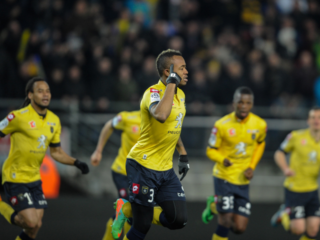 Jordan Ayew netted his third goal of the season for Sochaux