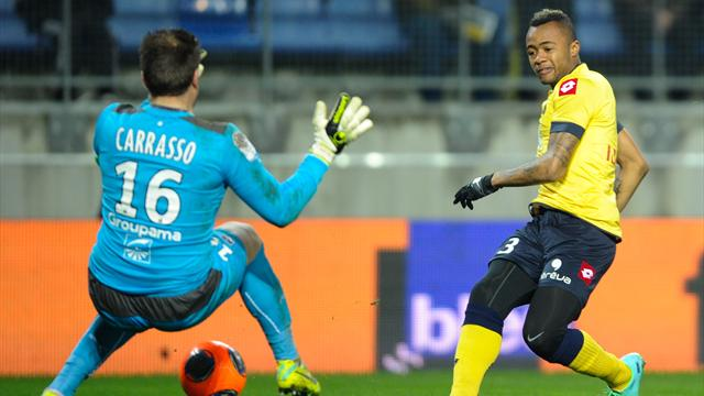 Jordan Ayew scored for Sochaux