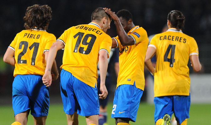 Kwadwo Asamoah provided the assist for Carlos Tevez's goal