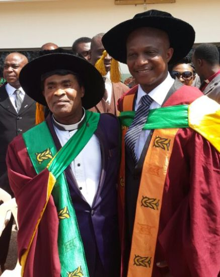 Kwesi Appiah was awarded a doctorate degree on Saturday